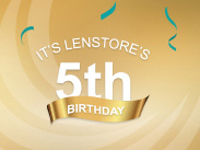 Lenstore 5th birthday