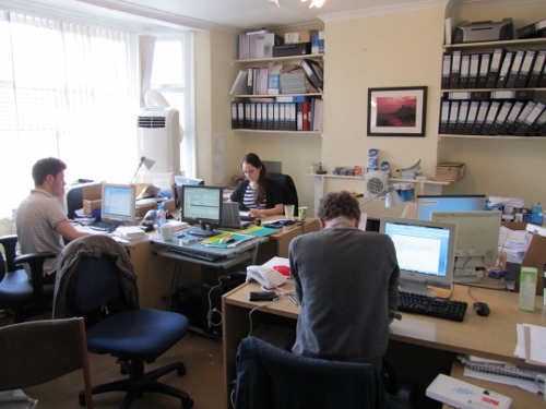 Lenstore's old office