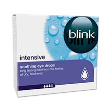 blink intensive eye drops