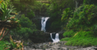 Blurred waterfall