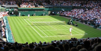 Wimbledon tennis match