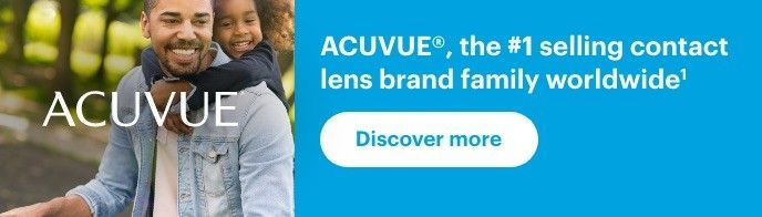 ACUVUE®, the #1 selling contact lens brand family worldwide