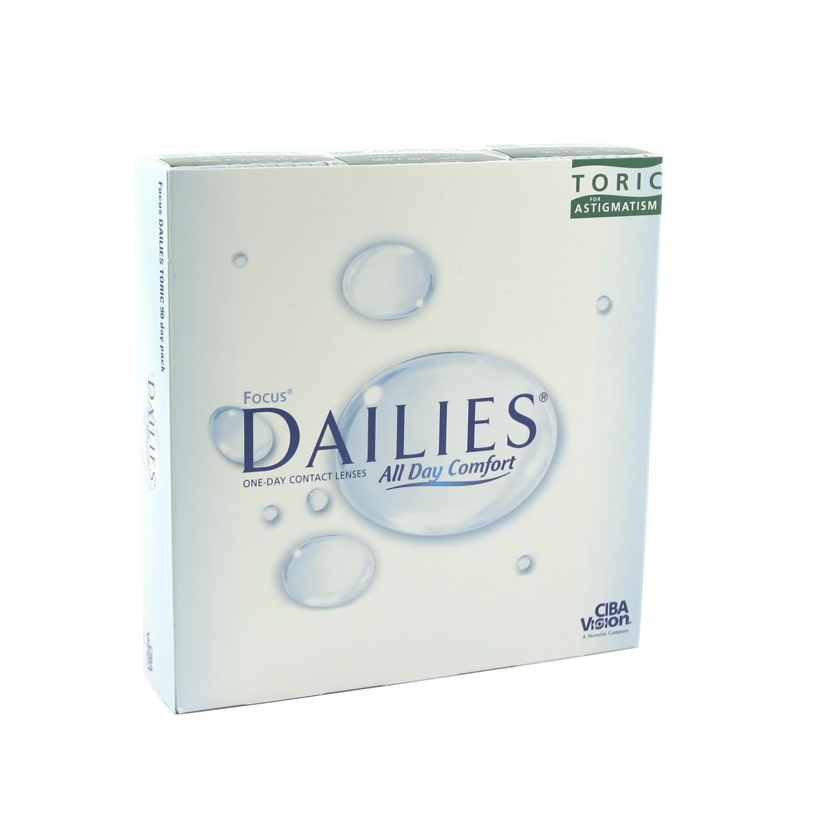Focus Dailies Toric (90 lenses)