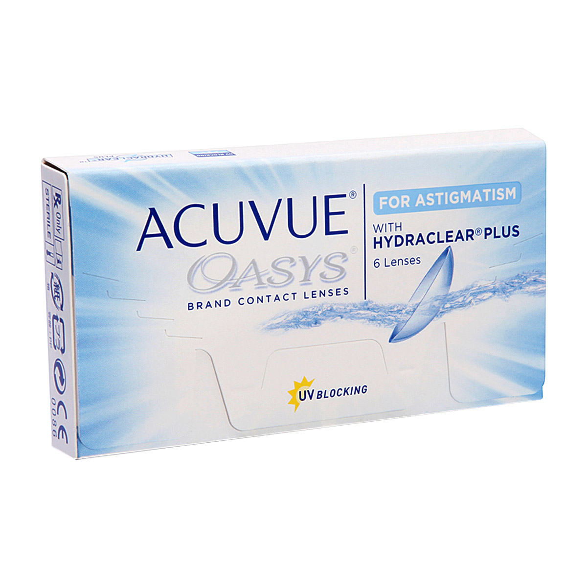 Contact lenses Acuvue Oasys for Astigmatism (6 lenses)