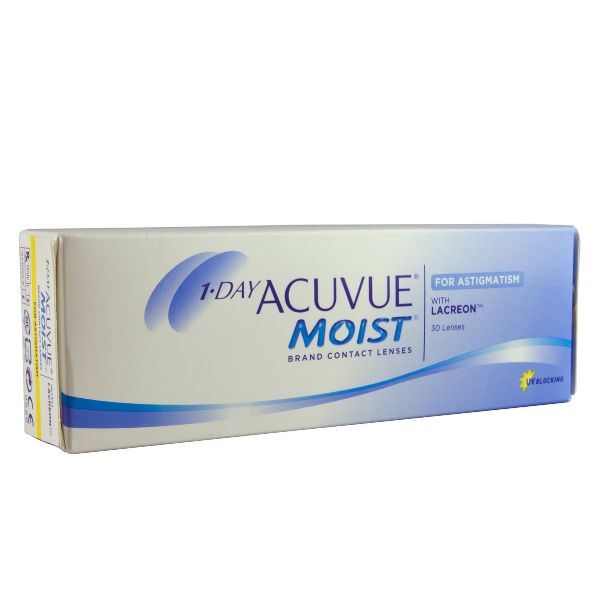 Contact lenses 1 Day Acuvue Moist for Astigmatism (30 lenses)