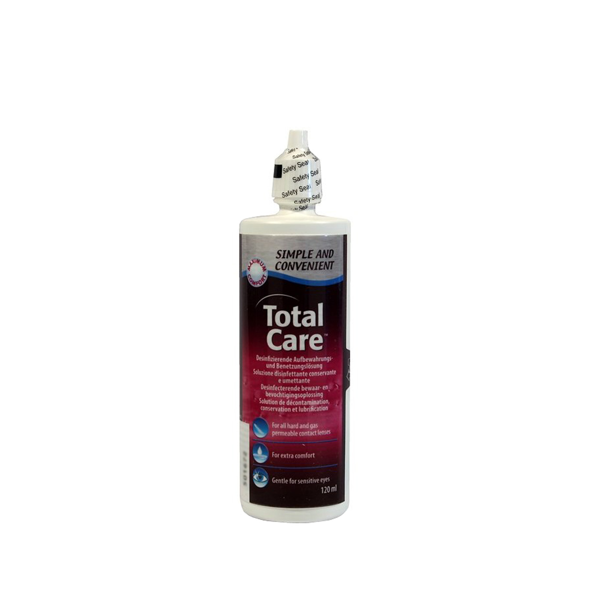 Total Care Disinfecting, Storing and Wetting solution (120ml)