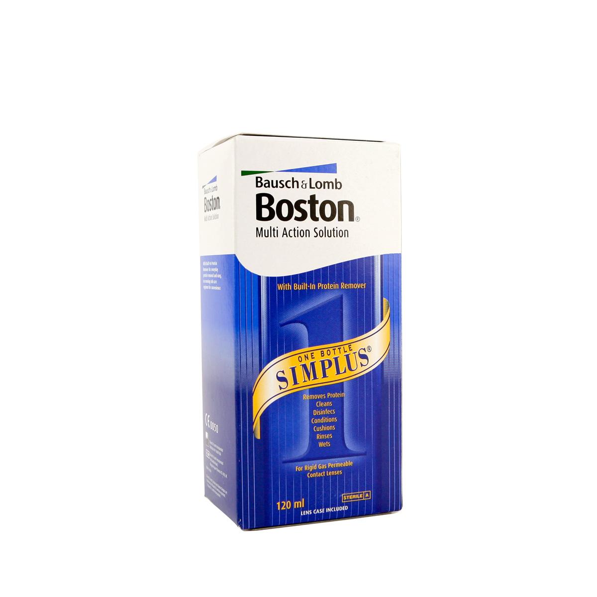 Lenstore Boston Multi Action Solution Simplus (120ml)