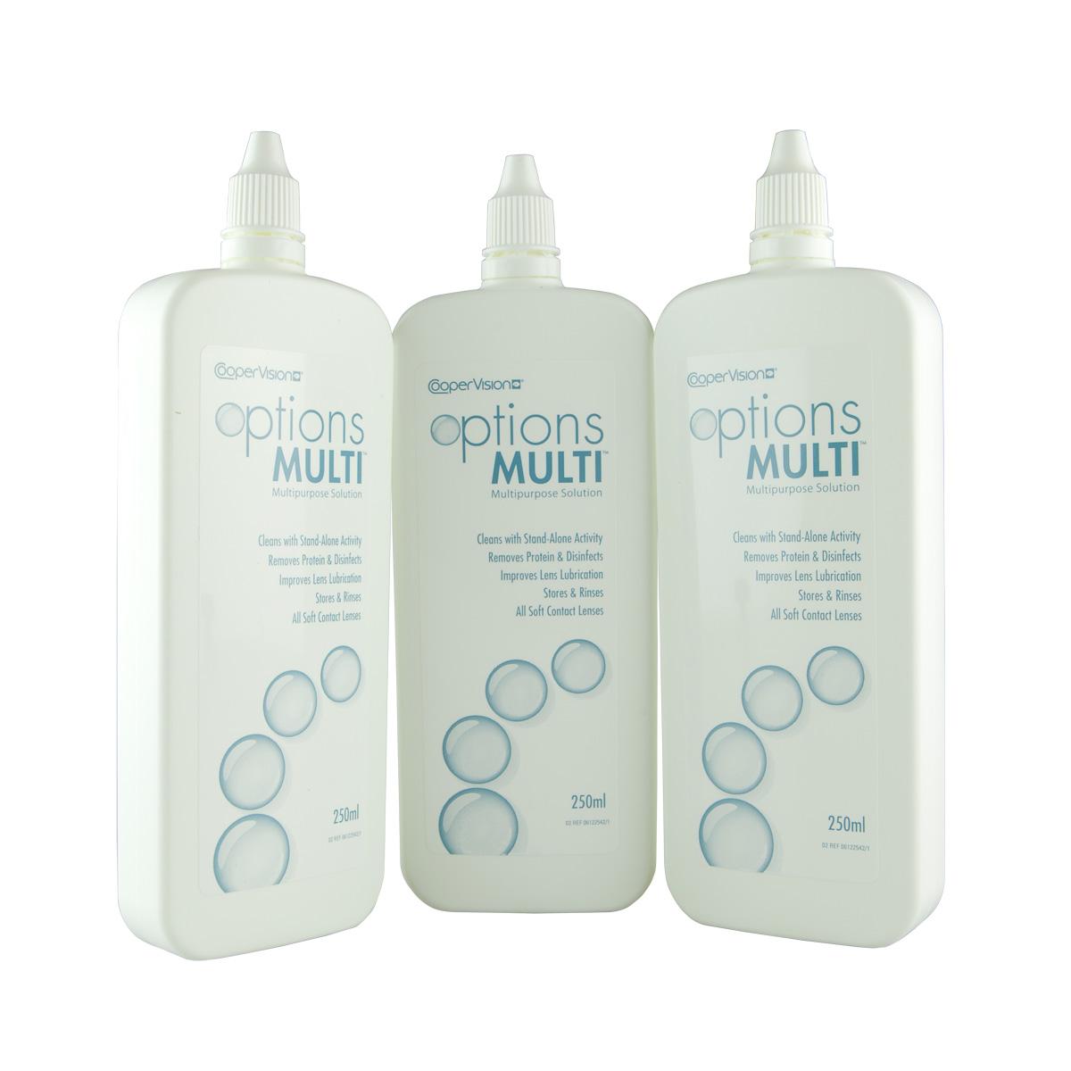 Contact lenses Options Multi (3*250ml)
