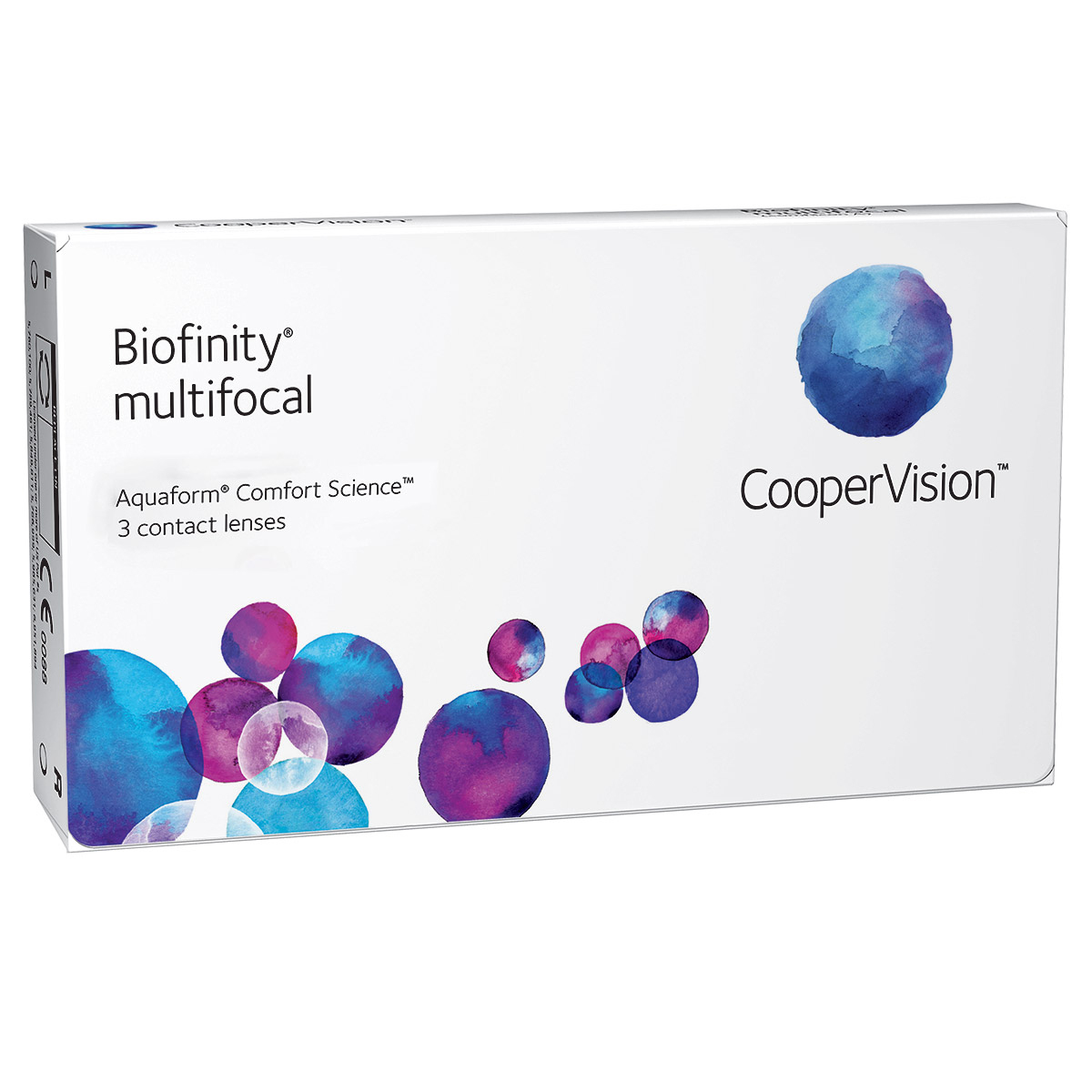 Contact lenses Biofinity Multifocal (3 lenses)