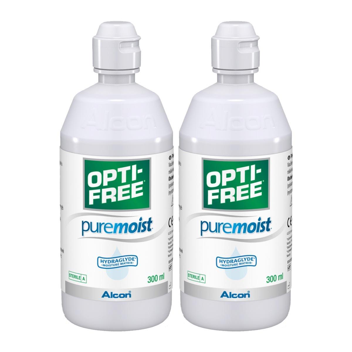Opti-Free PureMoist Twin Pack (2*300ml)