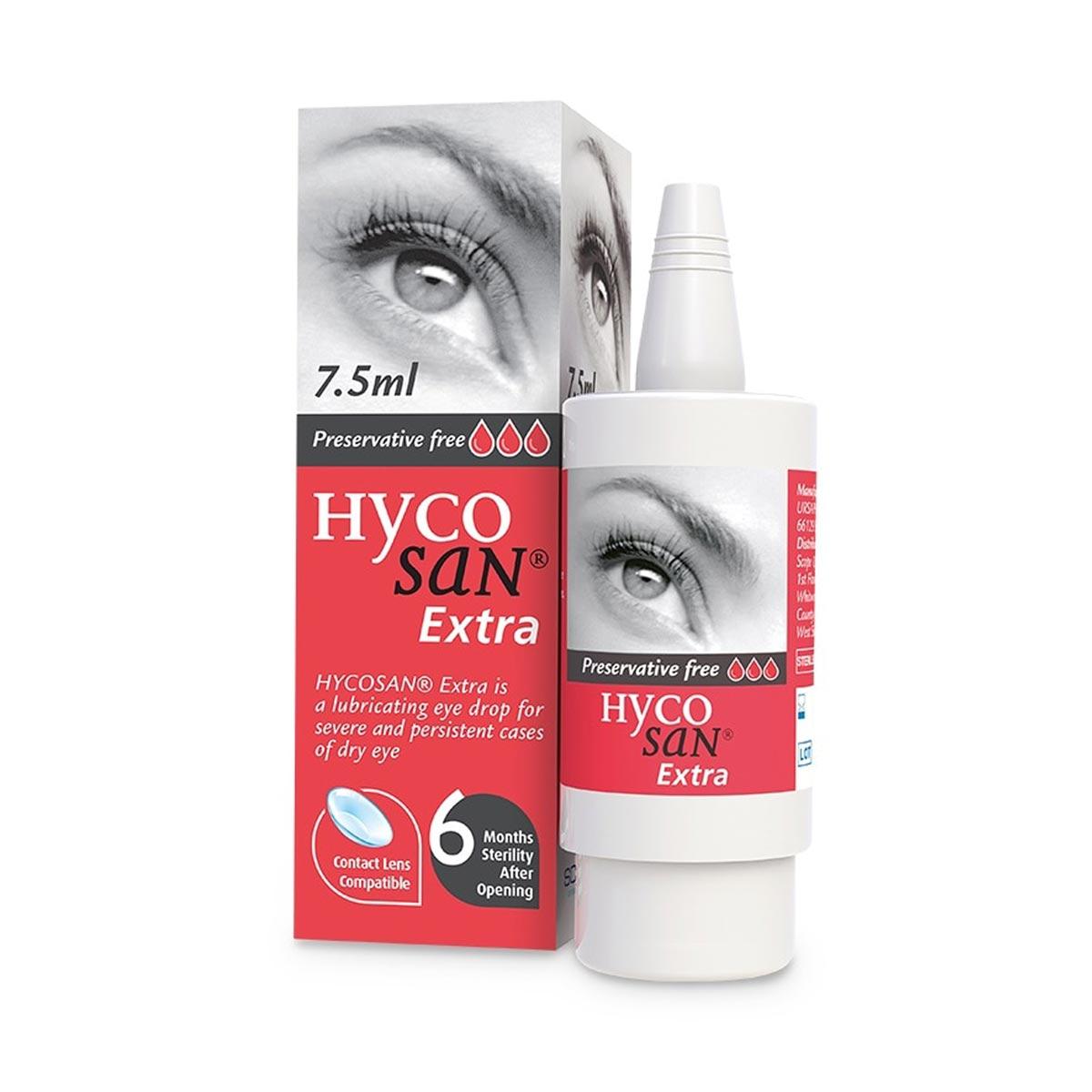 Lenstore Hycosan Extra Eye Drops (7.5ml)