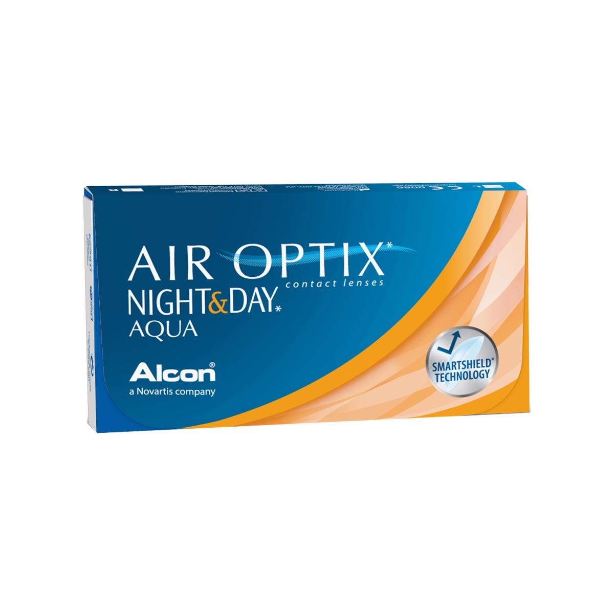 Contact lenses Air Optix Night & Day Aqua 6 Pack