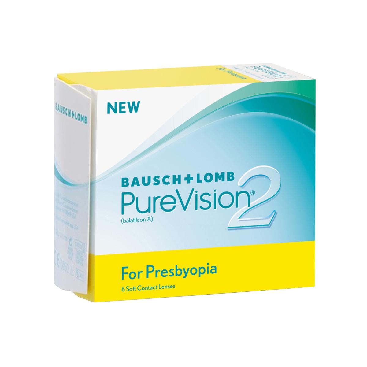 Contact lenses Purevision2 HD For Presbyopia (6 lenses)