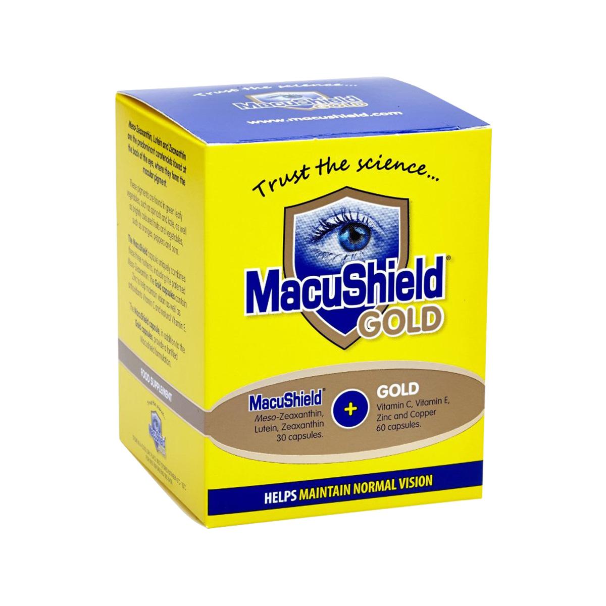 Lenstore MacuShield Gold (90 capsules)