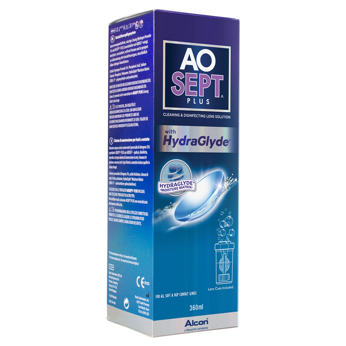 AOSept Plus with HydraGlyde (360ml)