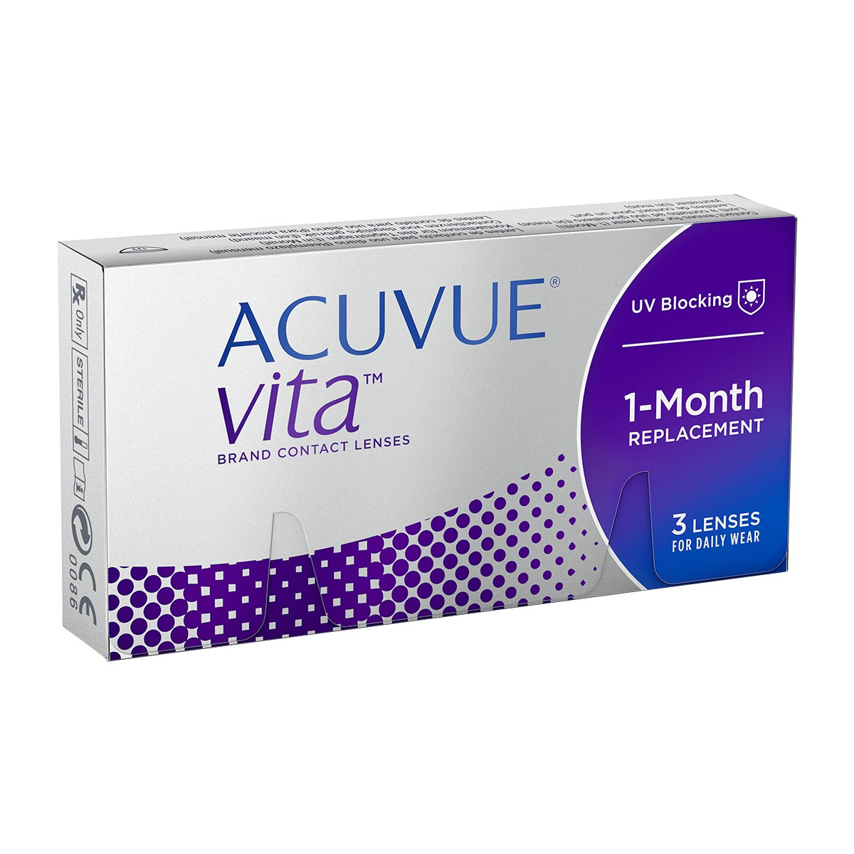 Contact lenses Acuvue Vita 3 Pack