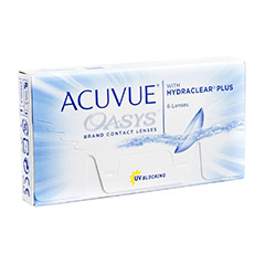 Acuvue Oasys Contact Lenses With Hydraclear Plus