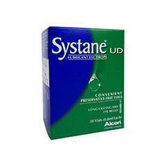 Systane Lubricating Eye Drops - Vials
