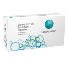 CooperVision Biomedics 55 Evolution (6 Pack)   Lenstore.co.uk e916bf3cb583