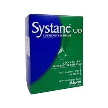 Systane Lubricating Eye Drops - Vials (28*0.8ml)