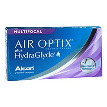 Air Optix plus HydraGlyde Multifocal (3 lenses)