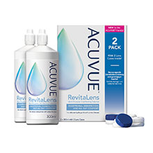 ACUVUE RevitaLens Multi-Purpose Disinfecting Solution Twin Pack (2*300ml)