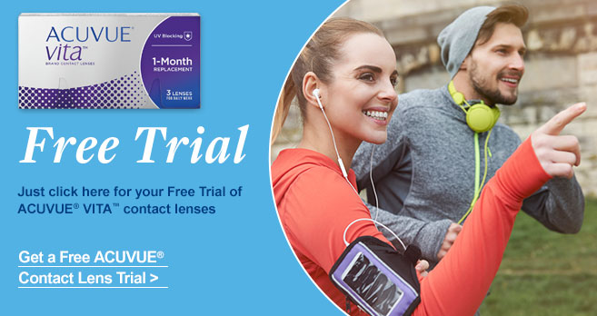 Free Trial of ACUVUE Vita contact lenses