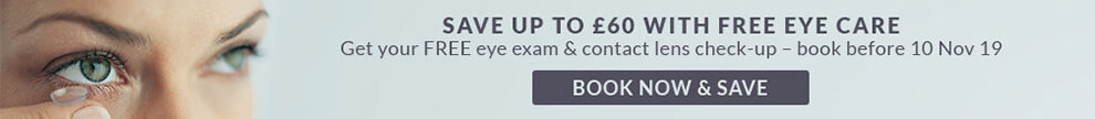 Save up to £60 with Free Eye Care