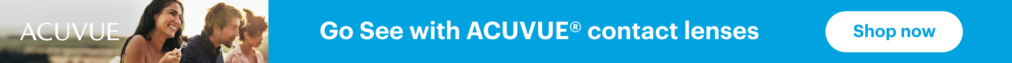 Go See with ACUVUE contact lenses. Shop now.
